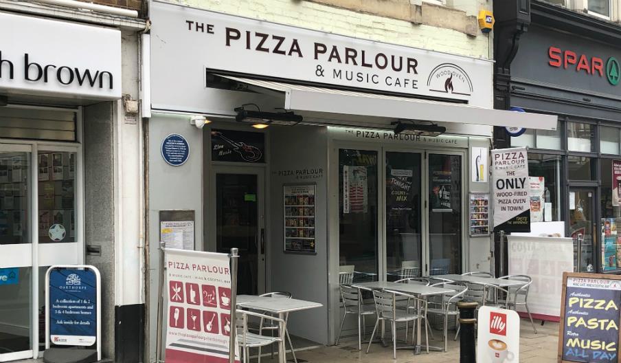 The Pizza Parlour Restaurant Music Cafe Restaurant