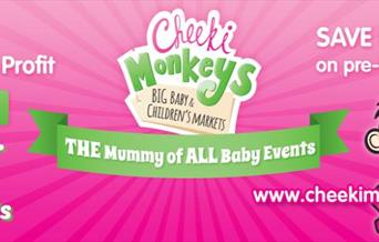 Cheeki Monkeys BIG Baby and Children's Market and FUN DAY