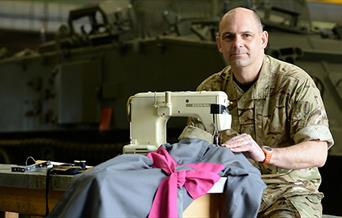 Sewing on the Front Line, presented by The Action Medical Research Spalding Committee