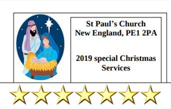 Christmas Services at St Paul's Church